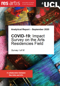 Res Artis COVID-19 SURVEY I 2020