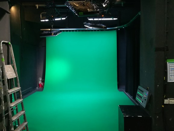 Medienwerkstatt Green Screen Studio
